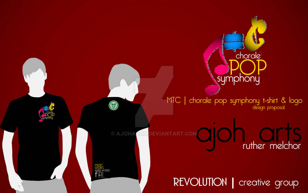 Mtcs Chorale Pop Symphony Logo Proposaltemplate By Ajohajoh On