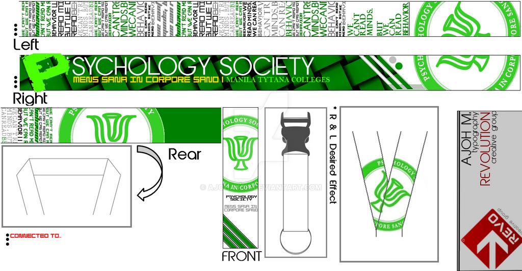 MTC's Psychology Society Lanyard Proposal/Template by ajohajoh on ...