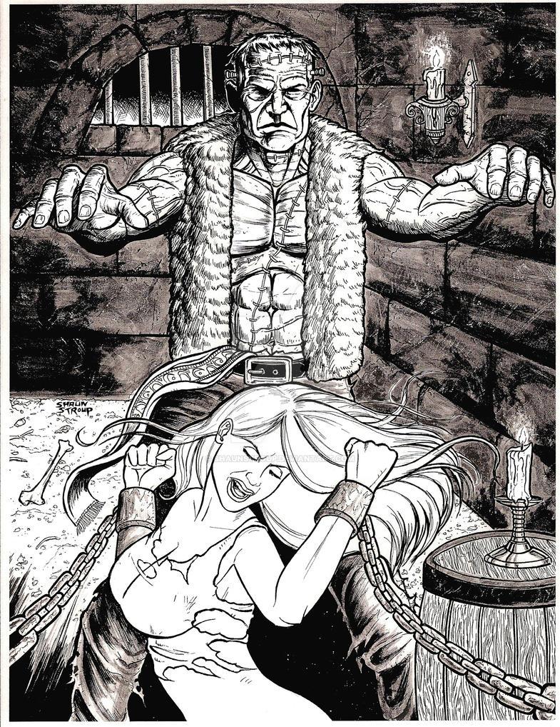 Frankenstein by ShaunStroup