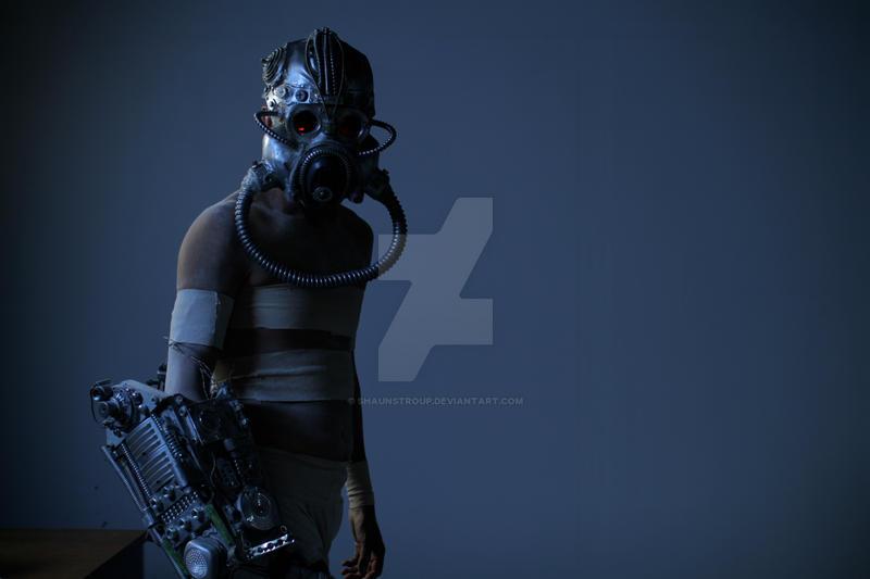 Choke On Evolution cyborg3 by ShaunStroup