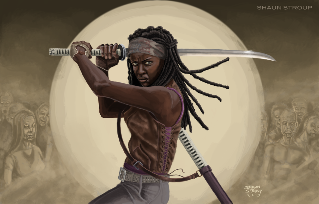 Michonne - The Walking Dead by ShaunStroup