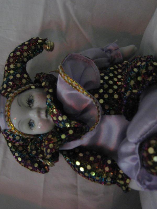 Mardi Gras Doll I by misfit-t0y-st0ck