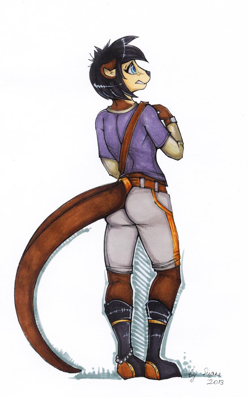 Dat otter butt - Nova by Suane