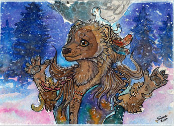 2017 Gift Mother Of Mustelids by Suane