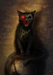 The Black Cat by ajinak