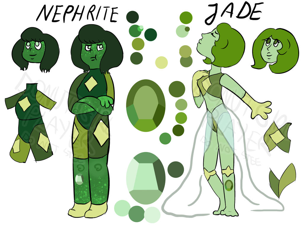 Nephrite And Jade [free] Closed By Paryficama On DeviantArt