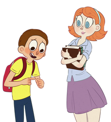 Morty and Jessica by Paryficama
