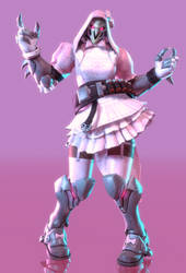Reaper (Lolita Pink) by eddpocalypse