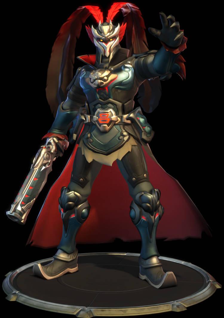 Reaper (Lu Bu) by eddpocalypse