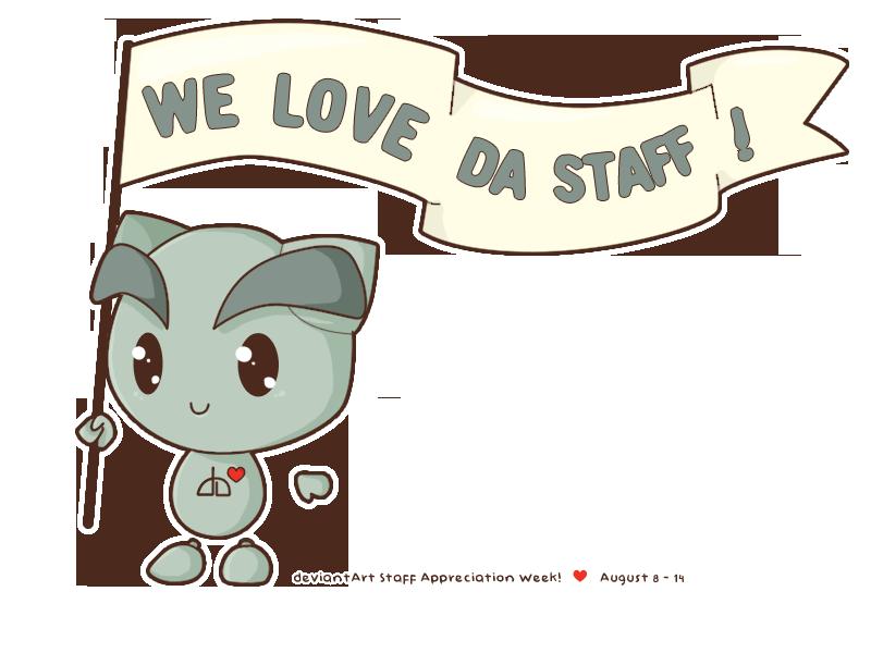 Love da staff by gotea