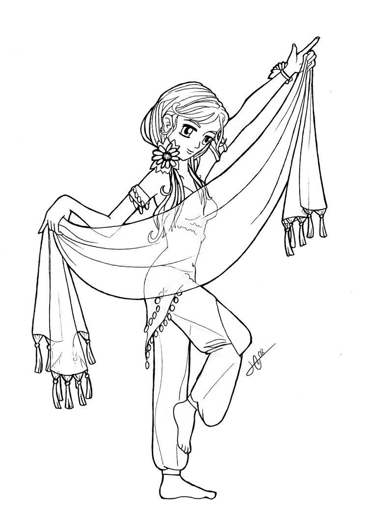 Danza by Ksiopeaslight on DeviantArt