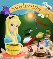 Welcome Wonderland by Ksiopeaslight