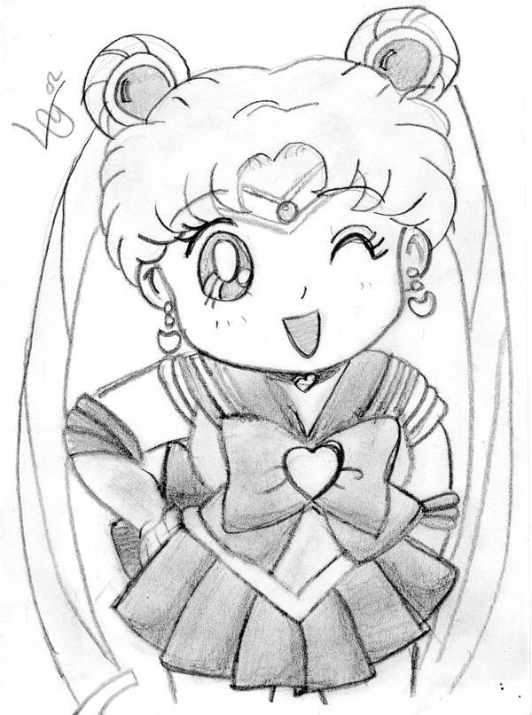 Dibujos Para Colorear De Anime Chibi ~ Ideas Creativas Sobre Colorear