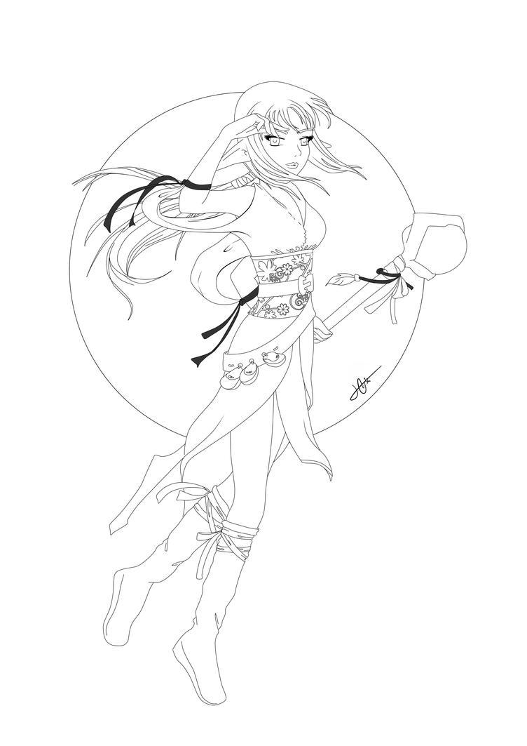 Line Art Ks : Iris lineart by ksiopeaslight on deviantart