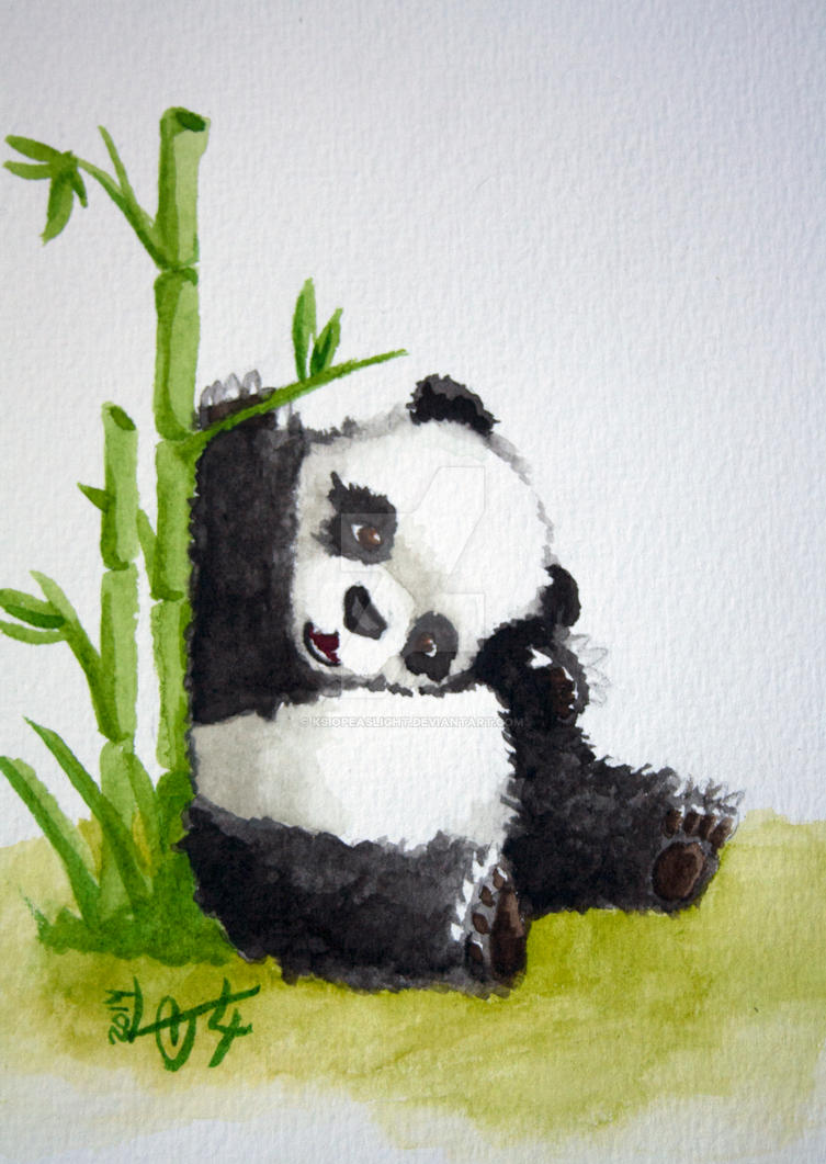 Little Panda by Ksiopeaslight