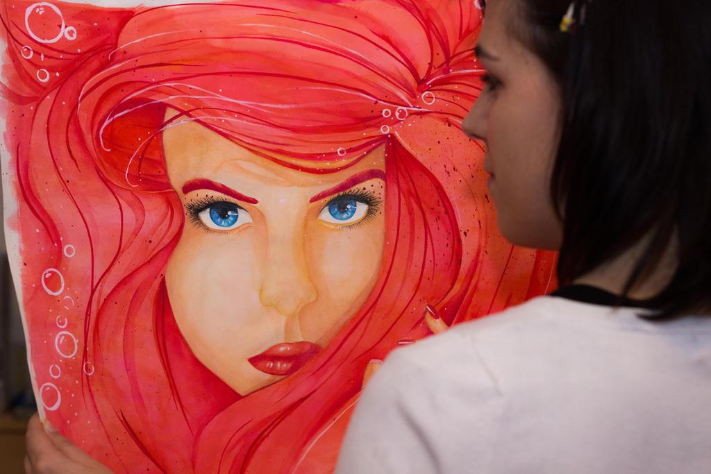 The artist by Ksiopeaslight