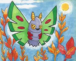 #269 Dustox by little-ampharos