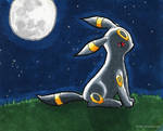 #197 Umbreon (b)