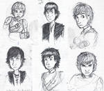 Hiccup faces 3