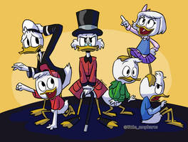 Ducktales 2017 Colored by little-ampharos