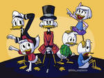 Ducktales 2017 Colored