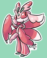 #754 Lurantis by little-ampharos