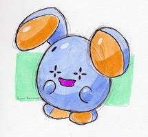 #293 Whismur by little-ampharos