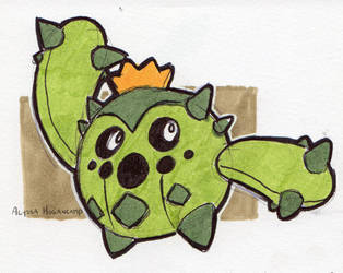 #331 Cacnea by little-ampharos