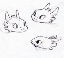 Toothles Doodles by little-ampharos