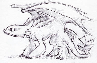 Toothless by little-ampharos