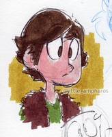 Hiccup Doodle by little-ampharos