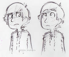 Hiccup Doodles 2 by little-ampharos