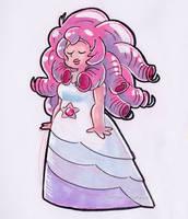 Rose Quartz by little-ampharos
