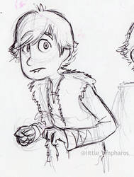Hiccup Study by little-ampharos