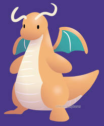 #149 Dragonite by little-ampharos