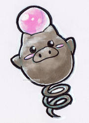 #325 Spoink by little-ampharos