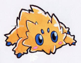 #595 Joltik by little-ampharos