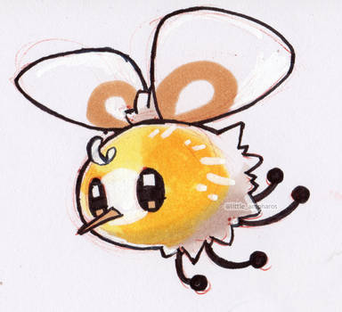 #742 Cutiefly by little-ampharos