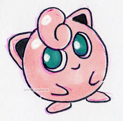 #039 Jigglypuff by little-ampharos