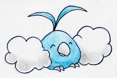 #333 Swablu by little-ampharos