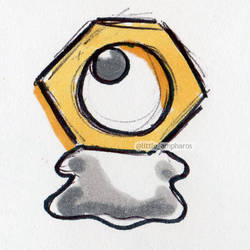 #808 Meltan by little-ampharos