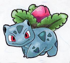 #002 Ivysaur by little-ampharos