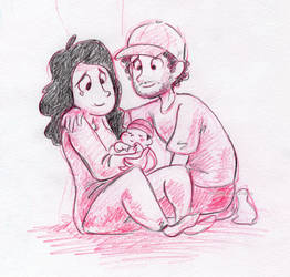 Ethan And Hila And Teddy