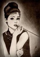Audrey Hepburn by Narek173