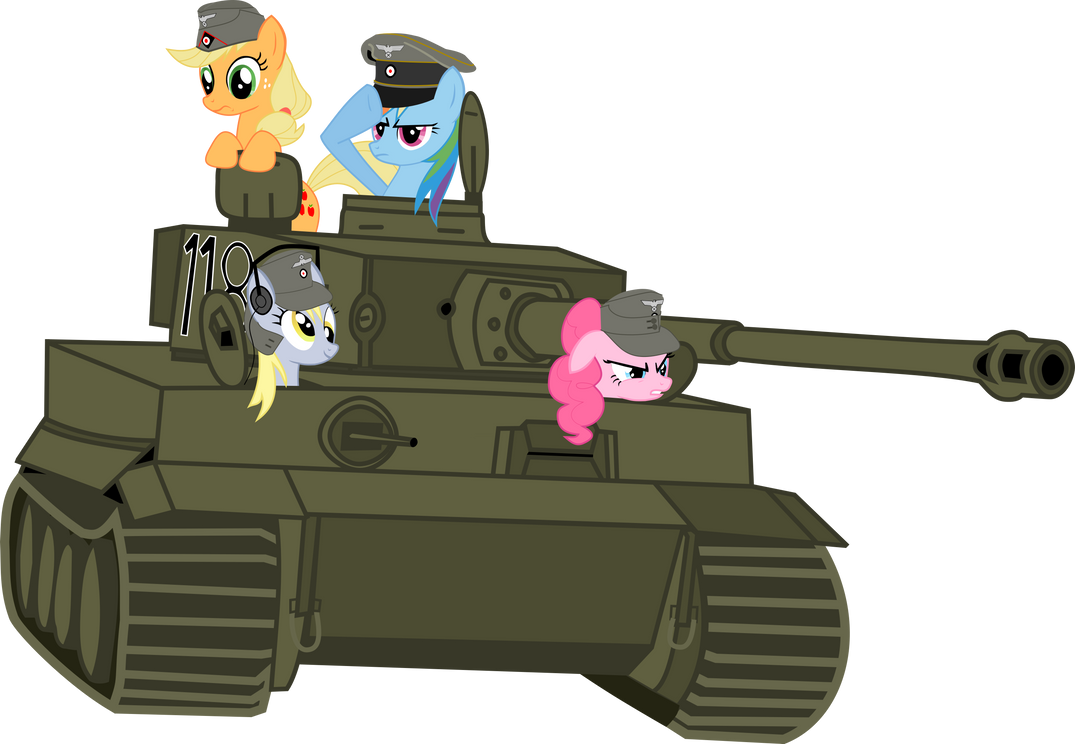 Greetings from the german bronyclan My_little_panzer_by_tensaioni-d3ihfwd