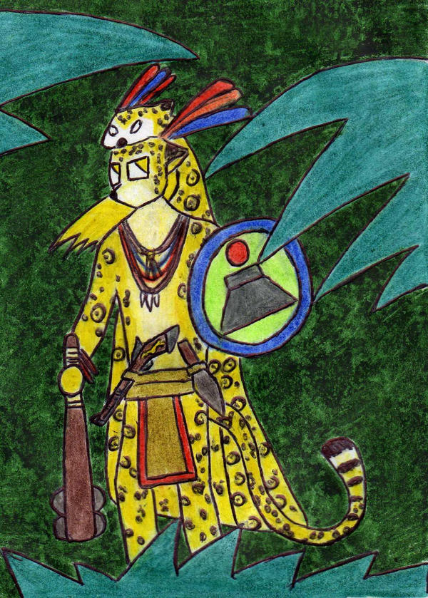 Jaguar Warrior by Kooskia
