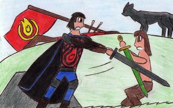 First Battle by Kooskia