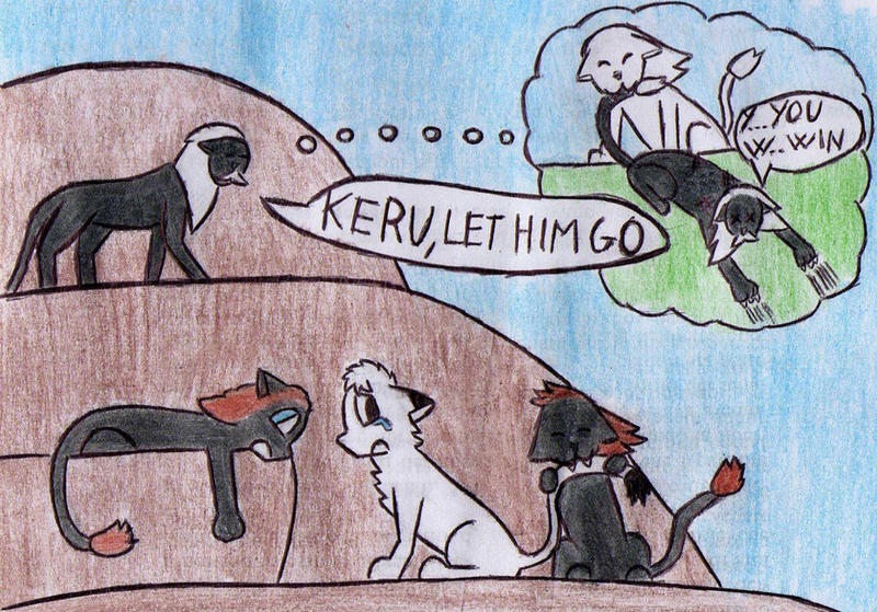 Kimba vs Keruru by Kooskia