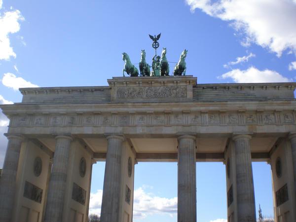 Brandenburg Gate by Kooskia