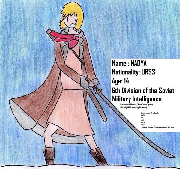 Nadya, First Squad by Kooskia